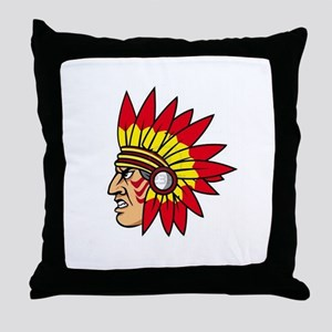 INDIAN NAME Throw Pillow
