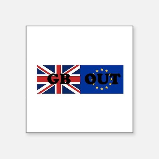 """Cute Anti eu Square Sticker 3"""" x 3"""""""