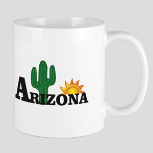 dark cactus arizona Mugs