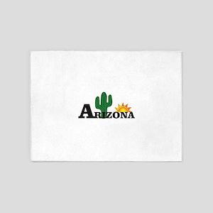 dark cactus arizona 5'x7'Area Rug