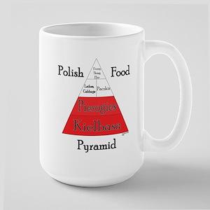 Polish Food Pyramid Large Mug