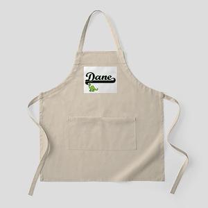 Dane Classic Name Design with Dinosaur Apron