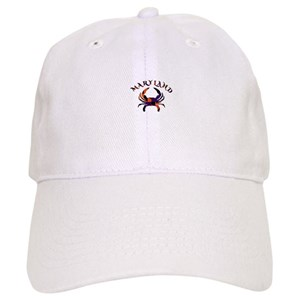 12d562d58608e Maryland Is For Crabs Hats - CafePress