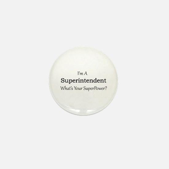 Superintendent Mini Button