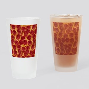 pizzas Drinking Glass