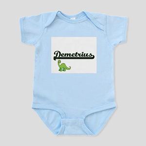 Demetrius Classic Name Design with Dinos Body Suit