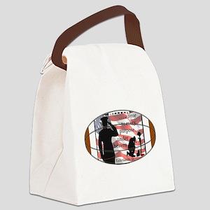 Ecc. in Football (1a) Canvas Lunch Bag