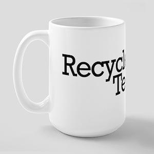 Recycled Teenager Large Mug