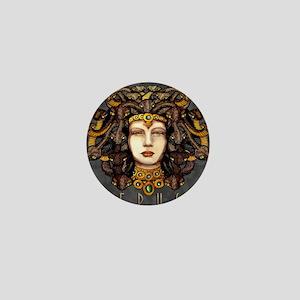 Medusa Steel Mini Button