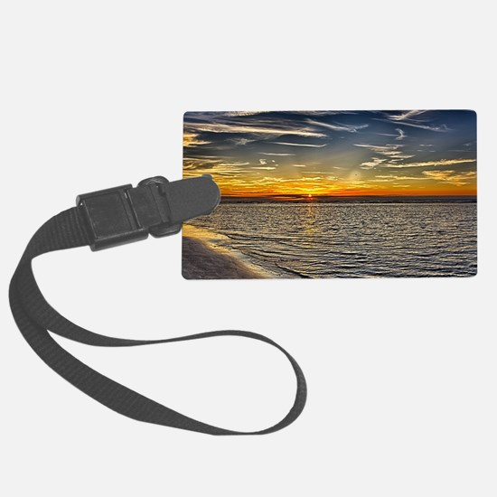 Before Sunset Luggage Tag