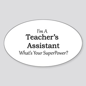 Teacher's Assistant Sticker
