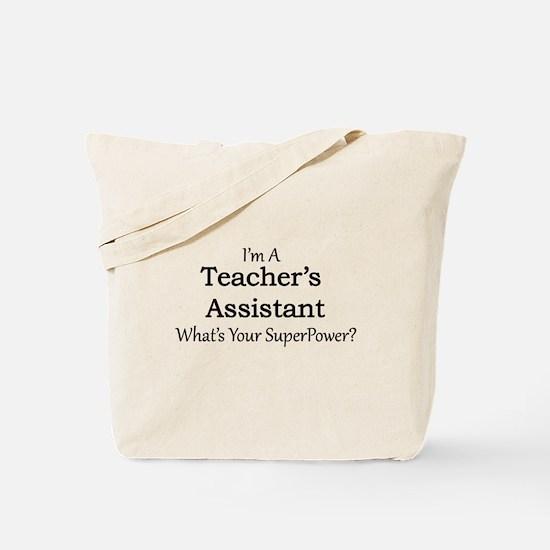 Teacher's Assistant Tote Bag