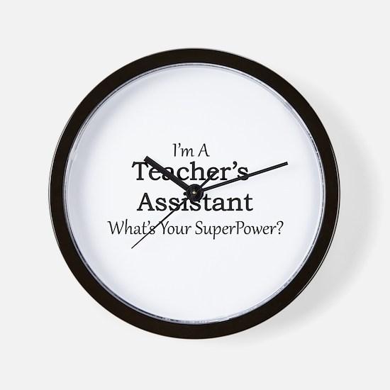 Teacher's Assistant Wall Clock