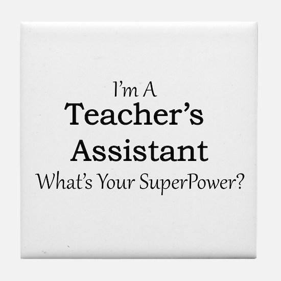 Teacher's Assistant Tile Coaster