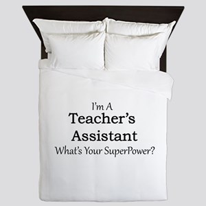 Teacher's Assistant Queen Duvet
