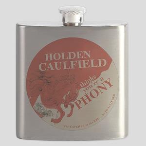 holden caulfield Flask