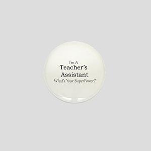 Teacher's Assistant Mini Button