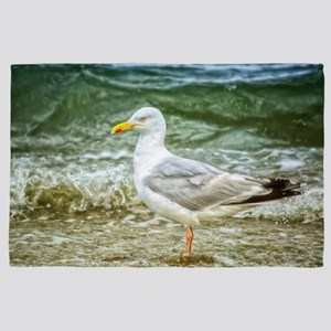 Seagull by the sea 4' x 6' Rug