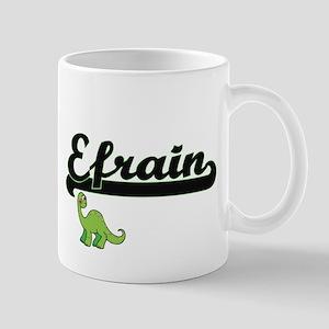 Efrain Classic Name Design with Dinosaur Mugs