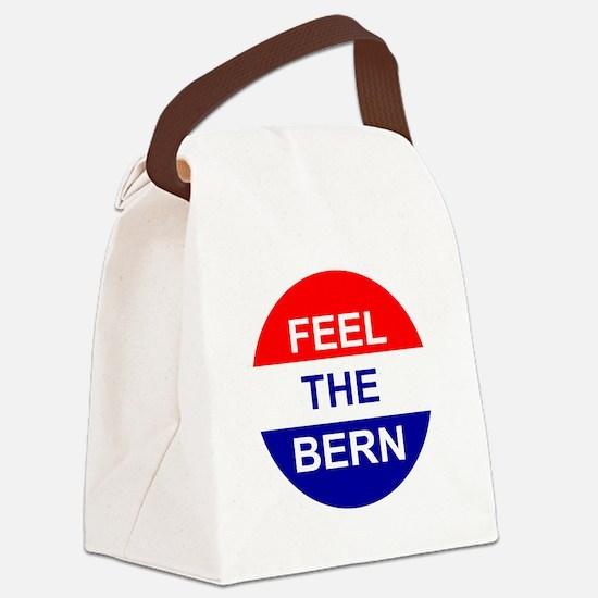 Feel The Bern Canvas Lunch Bag