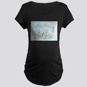 thank you Maternity T-Shirt