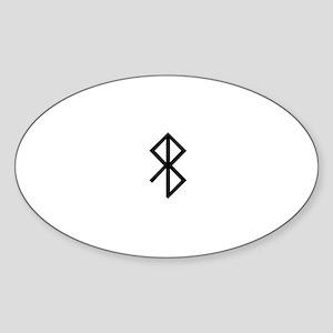 Viking Peace Rune Sticker