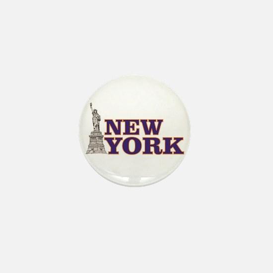 new york freedom Mini Button