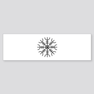 Viking Rune Bumper Sticker