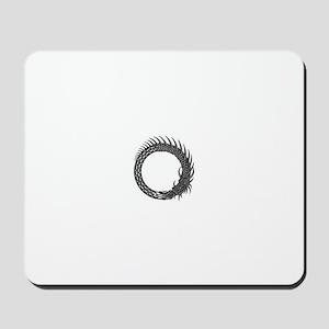 Viking Circle Mousepad