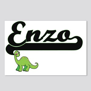 Enzo Classic Name Design Postcards (Package of 8)