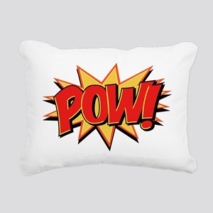 Pow! Rectangular Canvas Pillow