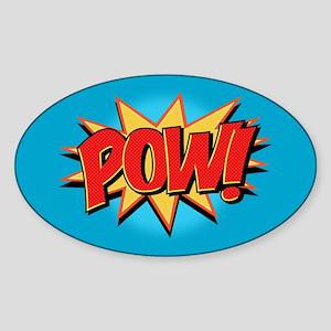 Pow! Sticker (Oval)