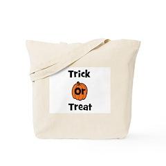 Trick or Treat (pumpkin) Tote Bag