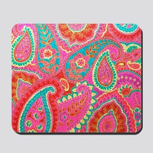 Pink Paisley Mousepad
