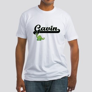 Gavin Classic Name Design with Dinosaur T-Shirt