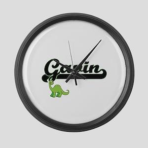 Gavin Classic Name Design with Di Large Wall Clock