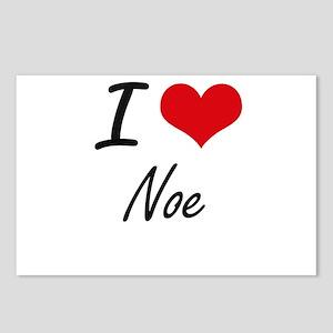 I Love Noe Postcards (Package of 8)