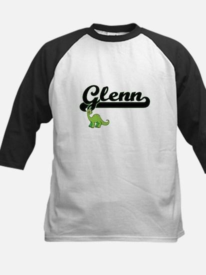 Glenn Classic Name Design with Din Baseball Jersey