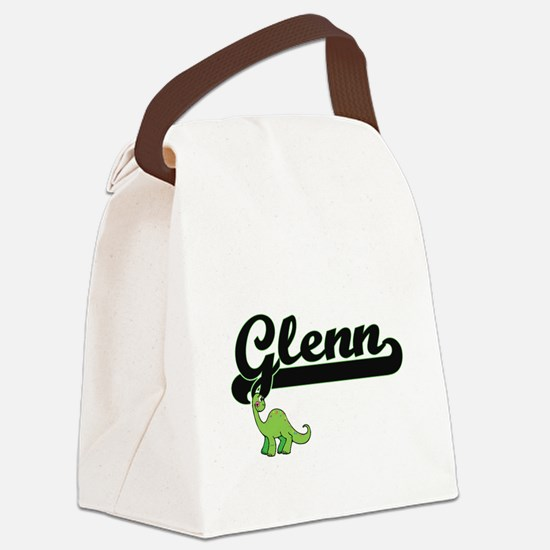 Glenn Classic Name Design with Di Canvas Lunch Bag