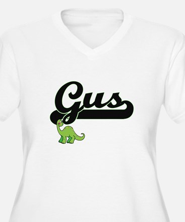 Gus Classic Name Design with Din Plus Size T-Shirt