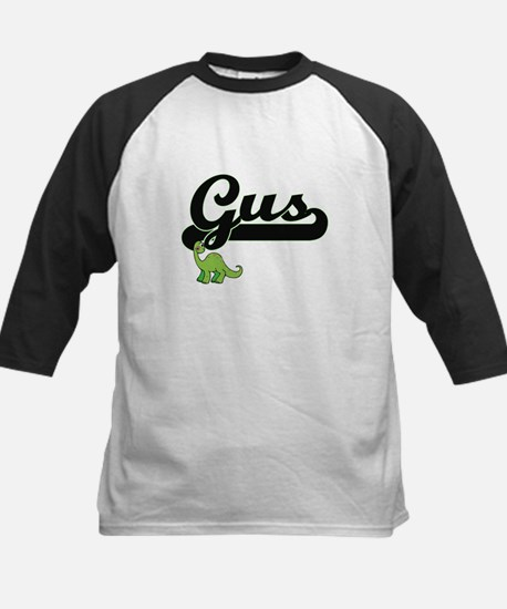 Gus Classic Name Design with Dinos Baseball Jersey