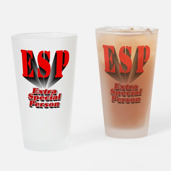 ESP - Extra Special Person Drinking Glass