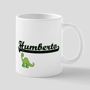 Humberto Classic Name Design with Dinosaur Mugs