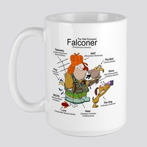 The Falconer Large Mug