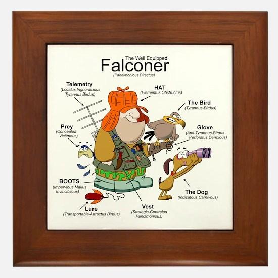 The Falconer Framed Tile