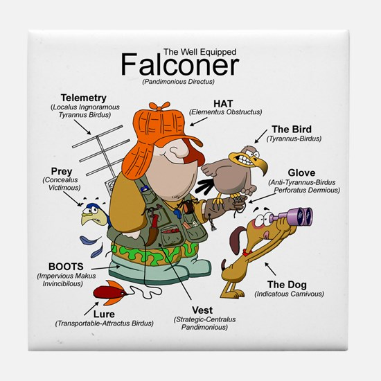 The Falconer Tile Coaster