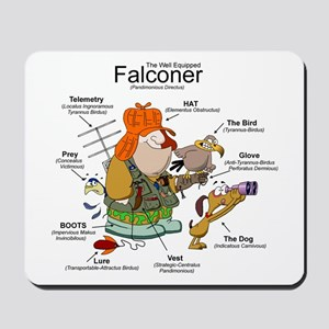 The Falconer Mousepad