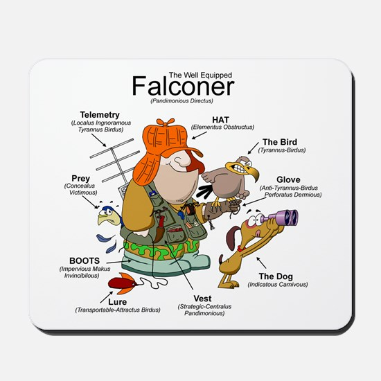 The Falconer Mousepad