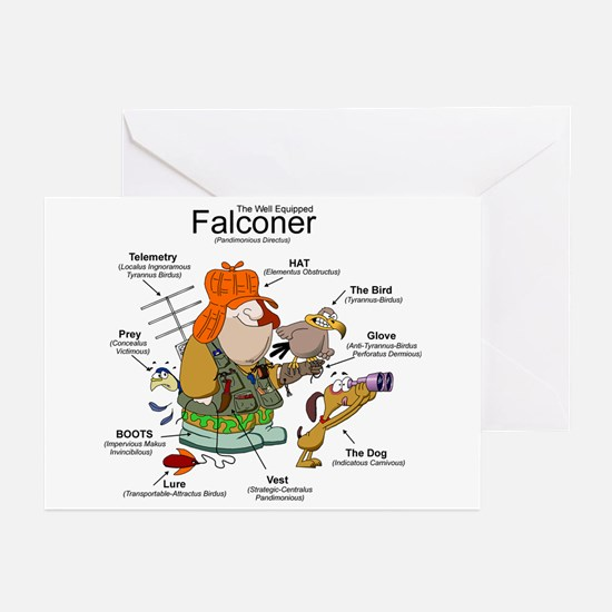 The Falconer Greeting Cards (Pk of 10)