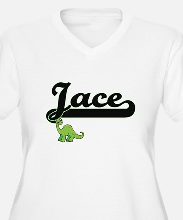 Jace Classic Name Design with Di Plus Size T-Shirt